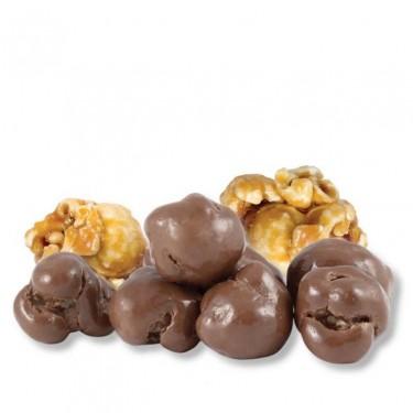 Milk Chocolate Caramel Corn | Unwrapped Bulk Candy | Gourmet Snacks
