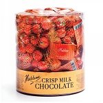Milk Chocolate Crisp Jack O'Lanterns - 24ct