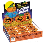 Milk Chocolate Pumpkin Heads - 36ct