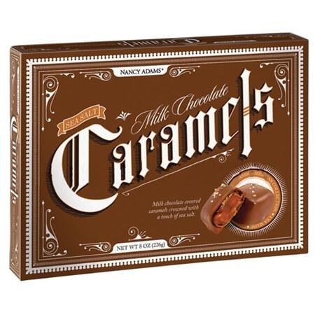 Milk And Dark Caramel Chocolate Box Ct