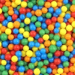 Mini Assorted Jawbreakers - 10lbs