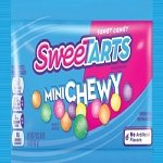 Mini Chewy Sweetart Pouches - 24ct
