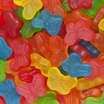 Mini Gummi Butterflies - 5lbs