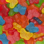 Mini Gummi Butterflies - 20lbs