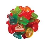 Gummi Mini Alphabet - 6.6lbs