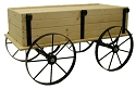Mini Planter Wagon Display - Red Cedar