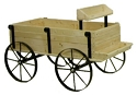 Mini Western Wagon Display - Red Cedar