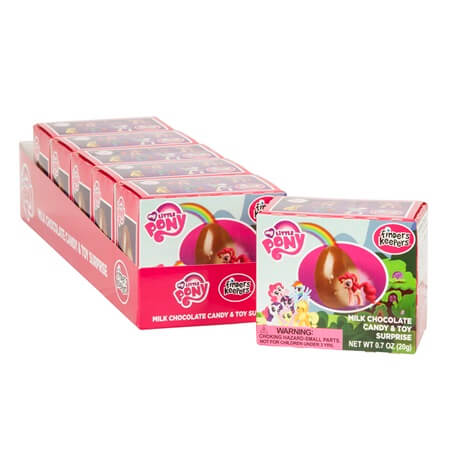 My Little Pony Chocolate And Toy Surprise - 6ct