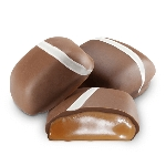 Sugar Free Milk Chocolate Vanilla Caramels - 10lbs