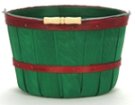 One Peck Apple Baskets Green - 12ct