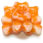 Orange Cream Gummi Bearsicles - 5lbs