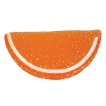 Orange Jelly Fruit Slices - 10lbs