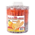 Orange Flavored Rock Candy Tub - 36ct