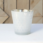 Pearl Star Candle Holder 3.75in