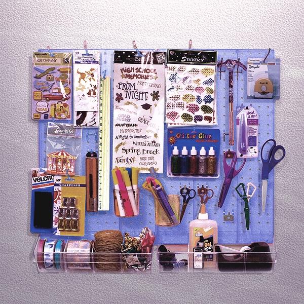Pegboard Organizer Kit Accessories Kit Wall Display
