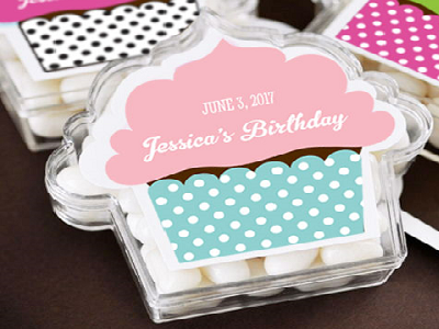 Personalized Birthday Party Favors