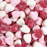 Jelly Belly Petite Sour Hearts - 10lbs