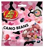 Pink Camo Beans Peg Bag  - 12ct