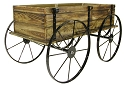 Planter Wagon - Treated Wood