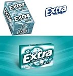 Extra Polar Ice Chewing Gum - 10ct