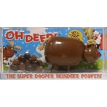 Pooper Reindeer Candy Dispenser  - 12ct