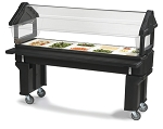 Portable Food Bar w/ Sneeze Guard - 6ft