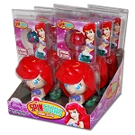 Princess Spin Stars Lollipops - 6ct