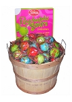 Psychedelic Sour Jawbreaker Basket - 110 Pieces
