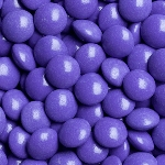 Purple Chocolate Gems -15lbs