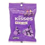 Purple Hershey Kisses Bag - 12ct