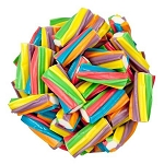 Rainbow Twisters Filled Licorice - 6.6lbs