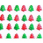 Red and Green Christmas Trees - 10lb