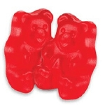 Red Hot Cinnamon Gummi Bears - 5lbs