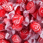 Red Licorice Swirl Salt Water Taffy - 20lbs