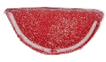 Red Raspberry Jelly Fruit Slices - 10lbs