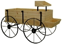 Western Wagon Display - Red Cedar