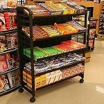 Premium Candy Display Rack - 36in