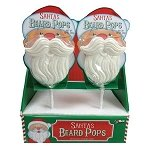 Santa Beard Pops - 24ct