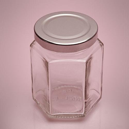Small Hexagon Glass Jars Jars With Lids Small Jars