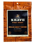 Grilled Sweet Teriyaki Pork Jerky  -1.5oz.  - 12ct