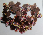 Snowcap Mini Dark Chocolate Pretzels - 25ct