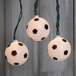 Soccer Ball String Lights- 11ft