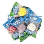 Soccer Gumballs Wrapped - 13.2lbs