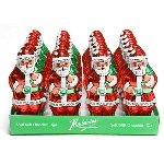 Foil Santa Solid Chocolate - 2oz - 24ct