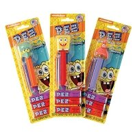 Spongebob PEZ Blister Packs - 6ct