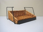 Stackable Wicker Countertop Basket Display