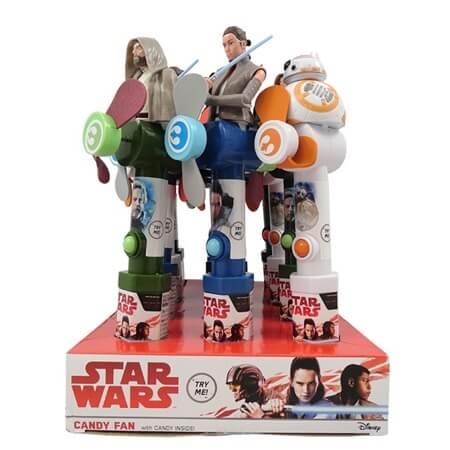 Star Wars Episode 8 Candy Fan - 12ct