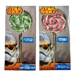 Star Wars Taffy Swirly Pops  - 12ct