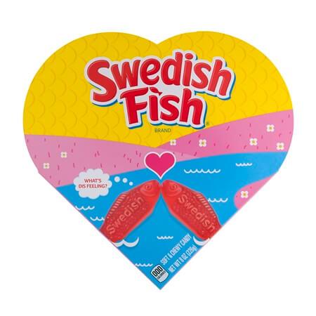 Swedish fish heart box valentines heart box swedish fish for Swedish fish box