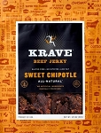 Sweet Chipotle Beef Jerky - 3.25oz. - 8ct